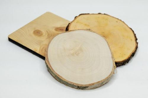 Untersetzer & Bierdeckel Holz